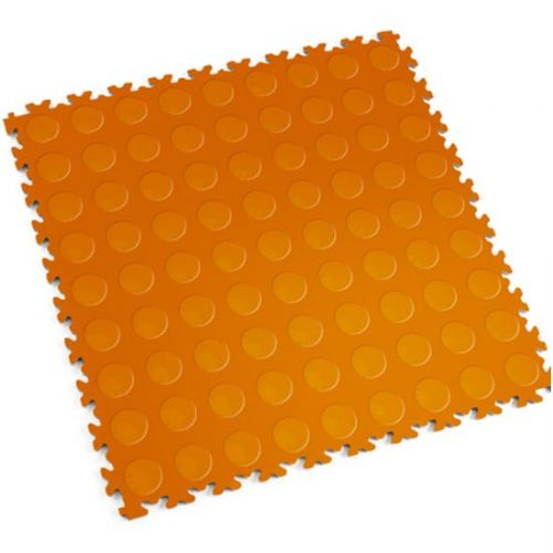 Orange Cointop - Motolock Interlocking Floor Tile
